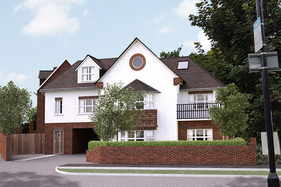 Get Planning and Architecture - Residential Scheme of 10 flats for a developer